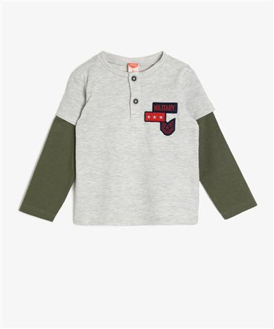 İşlemeli T-Shirt
