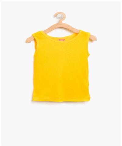 Sarı Kız Bebek Atlet